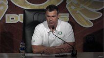 Mario Cristobal gives initial thoughts on Oregon's performance against Stanford
