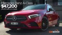 2019 Mercedes Benz A-Class review- MBUX & Hey Mercedes demonstration