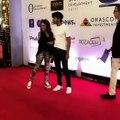 وسامة ابن سميرة سعيد تسرق الأضواء منها في مهرجان الجونة السينمائي