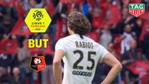 But Adrien RABIOT (11ème csc) / Stade Rennais FC - Paris Saint-Germain - (1-3) - (SRFC-PARIS) / 2018-19
