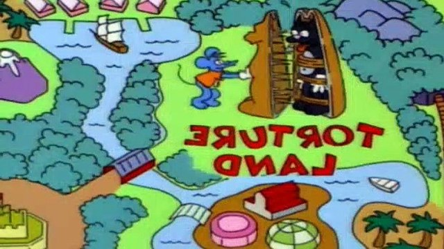 The Simpsons S06E04 - Itchy & Scratchy Land