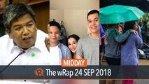 Martial Law massacres, Kris Aquino, typhoon Ompong | Midday wRap