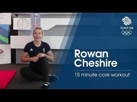 Rowan Cheshire core workout   Workout Wednesday