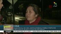 Ada Buentecol:En Chile no existe la palabra justicia para los mapuches