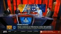 INCREIBLE! Aficionados De Tigres y Monterrey Se Enfrentaron, Paso De Todo, La Liga Debio Suspender E