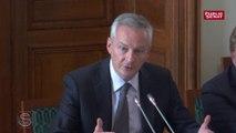 Budget 2019 : audition de Bruno Le Maire devant le Sénat