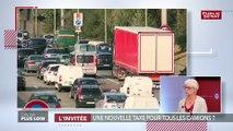 Taxe poids lourds : « Hors de question », pour le premier syndicat des transports routiers
