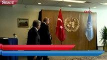Cumhurbaşkanı Erdoğan, Guterres ile görüştü!