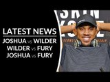 ANTHONY JOSHUA Discusses Deontay Wilder & Tyson Fury FIGHT after Knocking Out Povetkin