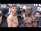 Yvan Mendy vs. Luke Campbell * REMATCH * WEIGH IN & FINAL FACE OFF | Joshua vs Povetkin Undercard.