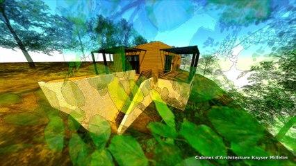 Projet d'Architecture d'une maison BBC Ecologique & contemporaine en Corse