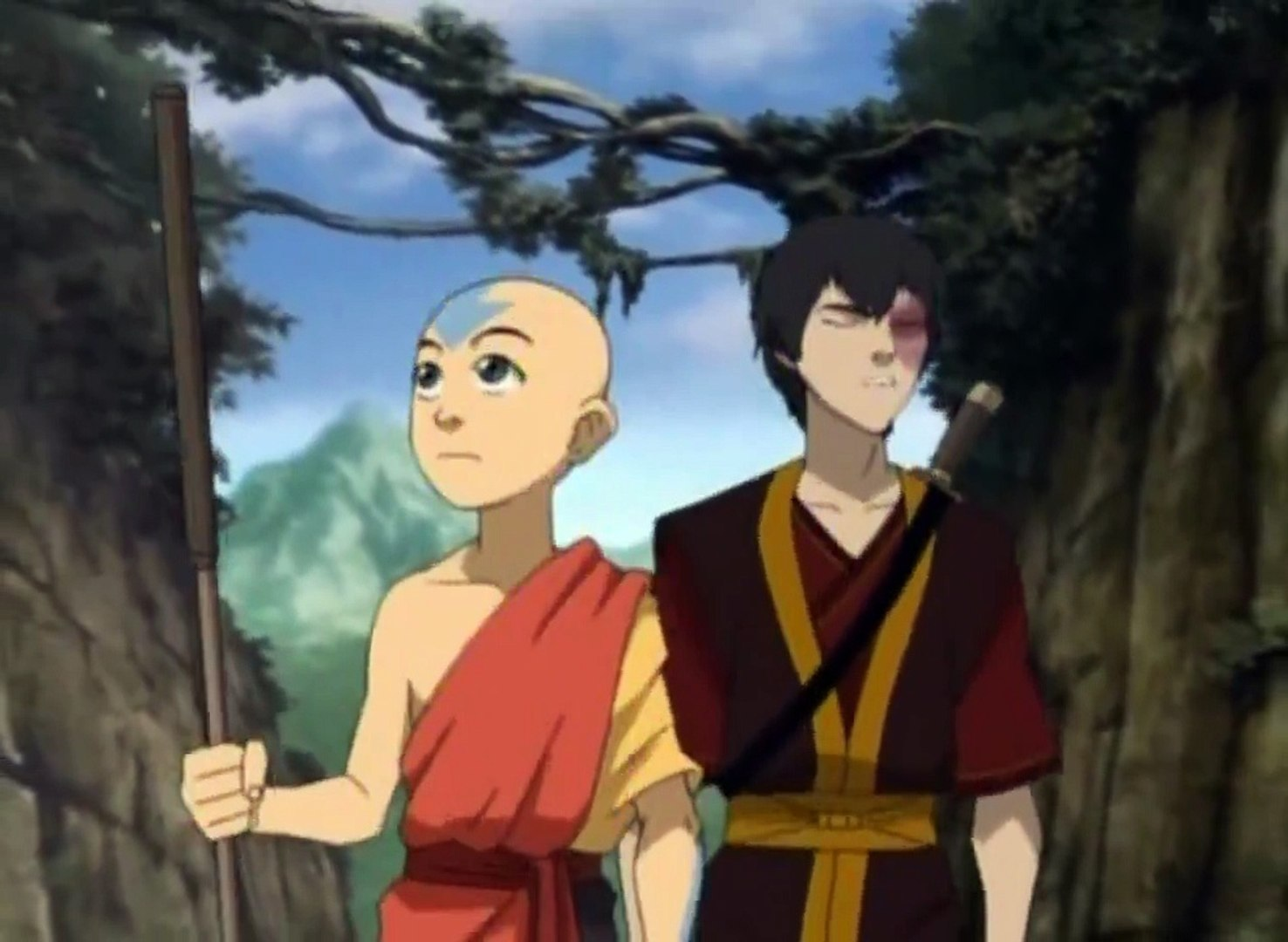 Avatar - The Last Airbender S03E13 The Firebending Masters