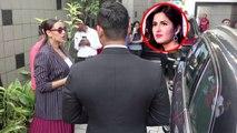 Katrina Kaif ने करवाया Neha Dhupia को इंतजार, कार के बाहर खड़ी रही Neha; Watch Video   FilmiBeat