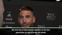 Team player Modric deserves award - Ramos