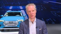 Electric goes Audi - all-electric Audi e-tron SUV unveiled - Interview Scott Keogh