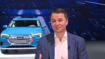 Electric goes Audi - all-electric Audi e-tron SUV unveiled - Interview Filip Brabec