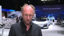 Electric goes Audi - all-electric Audi e-tron SUV unveiled - Interview Marc Lichte