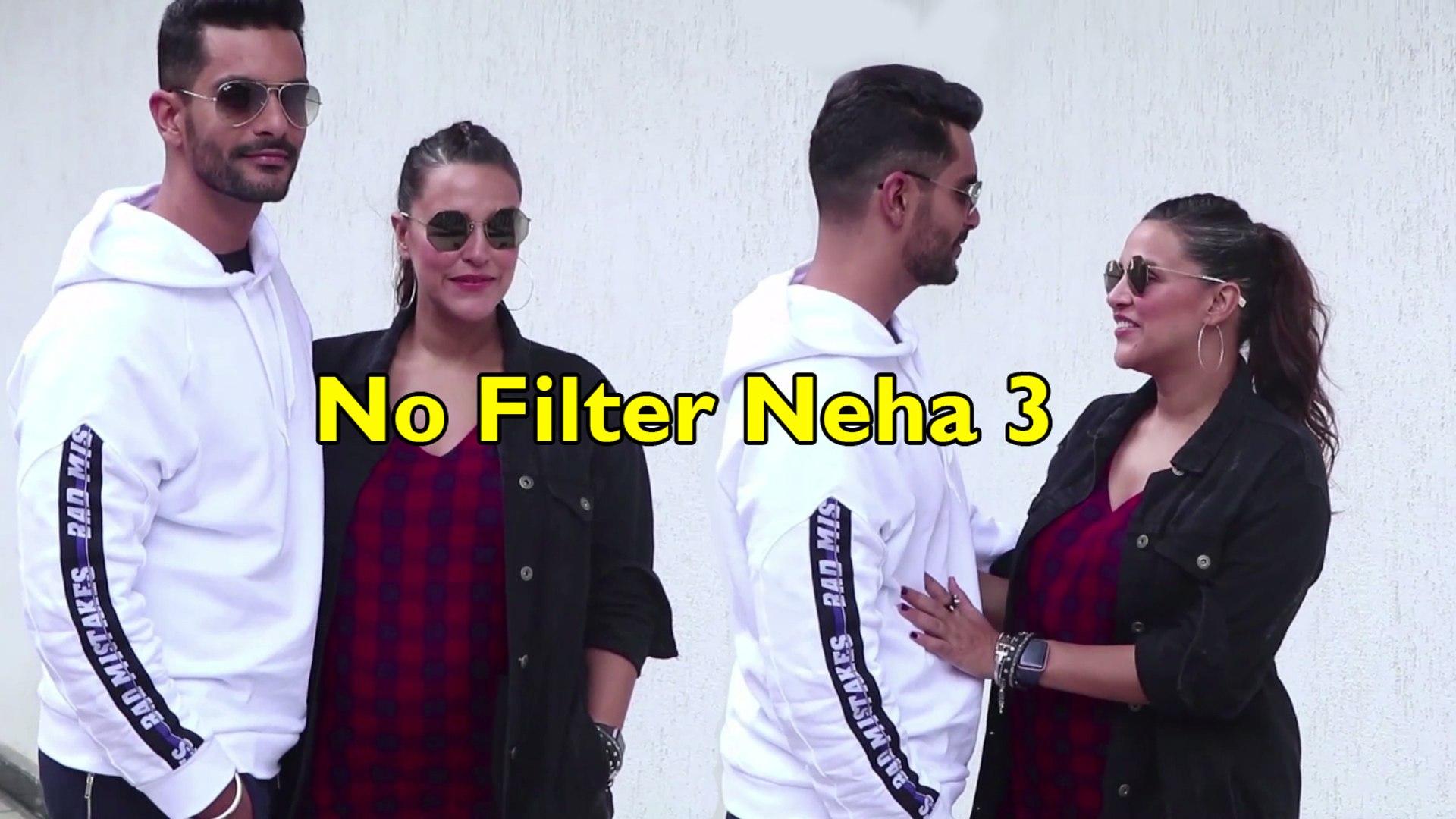 Pregnant Neha Dhupia With Husband Angad Bedi   #NoFilterWithNeha Season 3