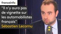 """""""Il n'y aura pas de vignette sur les automobilistes français, affirme le secrétaire d'Etat auprès du Ministre d'Etat, ministre de la Transition écologique et solidaire"""