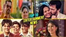Top 10 Entertainment News | Weekly Wrap | Mrunal Dusanis | Siddharth Chandekar | Boyz2