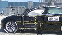 VÍDEO: Así de seguro es el Tesla Model 3, ¿cinco estrellas?