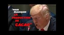 Ce lapsus de Donald Trump ne va pas plaire aux amateurs de chocolat
