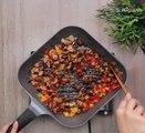 طريقة عمل فطيرة تركي بحشوة الدجاج والخضروات  مع منار هشام