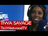 Tiwa Savage on Ma Lo, women in Afrobeats, Lova Lova, Ciara, Coldplay - Westwood