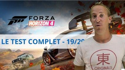 Test vidéo - Forza Horizon 4 - Le roi des jeux de course est de retour !
