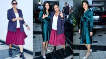 Katrina Kaif & Neha Dhupia spotted in style at No Filter Neha Season 3 shooting | FilmiBeat