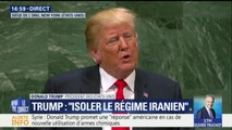 """ONU: """"Nous rejetons le globalisme, le mondialisme et nous nous approprions le patriotisme"""" déclare Donald Trump"""