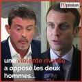 Avec Barcelone, Valls veut définitivement tourner la page Macron
