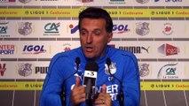 L'avant Match Amiens SC - Stade Rennais , Christophe Pélissier