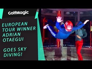 European Tour Winner goes Sky Diving!