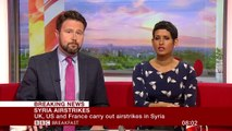 Syria air strikes- US and allies attack chemical weapons sites - BBC News