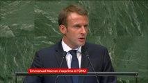 Assemblée générale de l'ONU : La lutte contre les inégalités sera une priorité du G7 présidé par la France en 2019 annonce Emmanuel Macron
