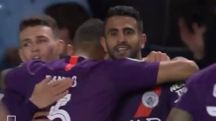 League Cup : très beau but de Mahrez face à Oxford United