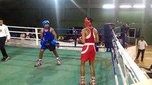 Double KO pendant un match de boxe (Inde)