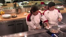 Chef STRUGGLES WITH SASHIMI | Hell's Kitchen