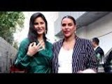 Katrina Kaif & Neha Dhupia Spotted In Style At No Filter Neha Season 3