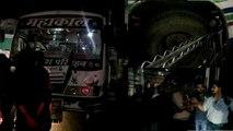 मोदी की सभा से लौट रहे बस यात्रियों की जान को ड्राइवर ने डाला आफत में, पुलिस ने किया गिरफ्तार
