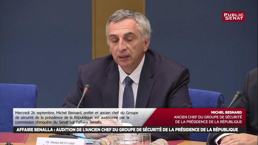 Michel Besnard, ancien chef du GSPR : « La sécurité du Président s'exerce à tout moment »