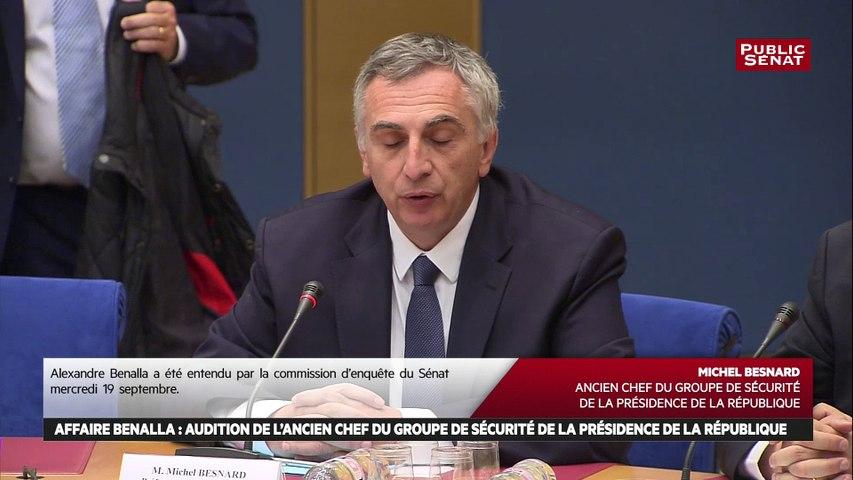 Michel Besnard: « Le cercle le plus proche du président de la République est constitué de membres du GSPR »