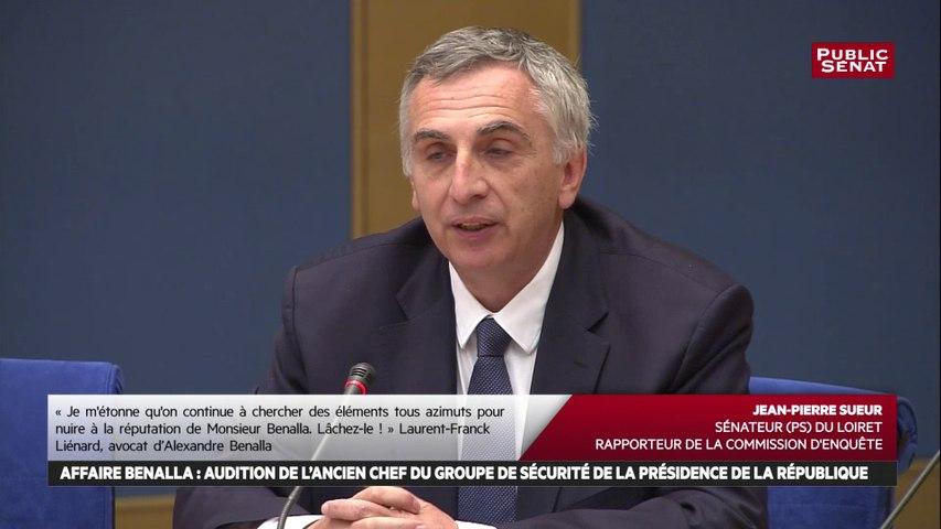 « Donner des instructions au GSPR n'était pas possible » souligne Michel Besnard