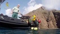 Un peligro para los animales y la navegación! Retiran gran red del fondo marino de Cabo de Gata en Almería