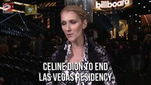 Celine Dion to end Las Vegas residency