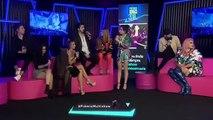 Luan Santana no bastidores do prêmio Multishow falando sobre o beijo da anitta
