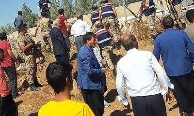 Şanlıurfa'da DEDAŞ ekibine saldırı... Jandarma havaya ateş açtı