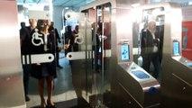 Des portiques anti-fraude installés à la gare Saint-Lazare
