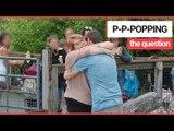 Adorable Couple's Penguin Proposal!   SWNS TV